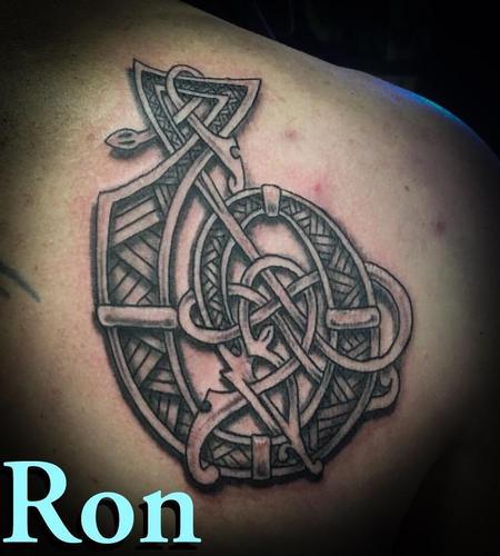 Tattoos - Fish Hook, clients design - 138526