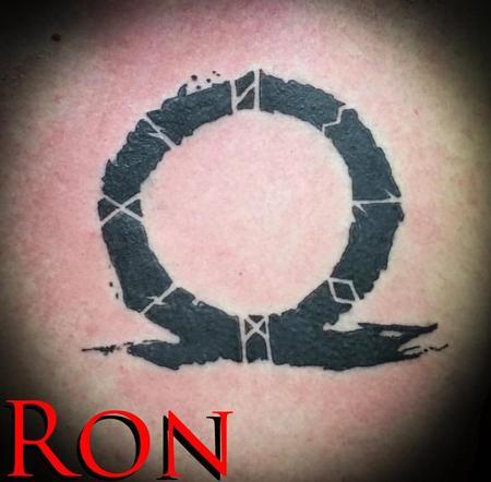 Tattoos - God of War Symbol - 139017