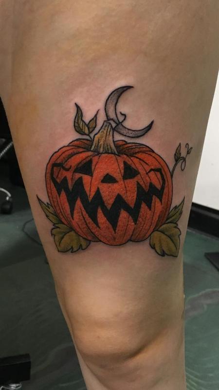 Tattoos - Jack o Lantern - 140285