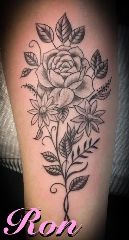 Tattoos - Floral - 137793