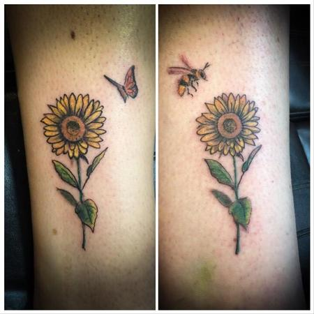 Tattoos - Sunflowers - 139885