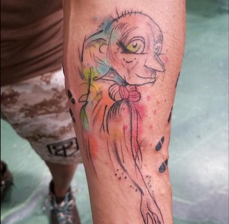 Tattoos - Watercolor Dobby - 139191