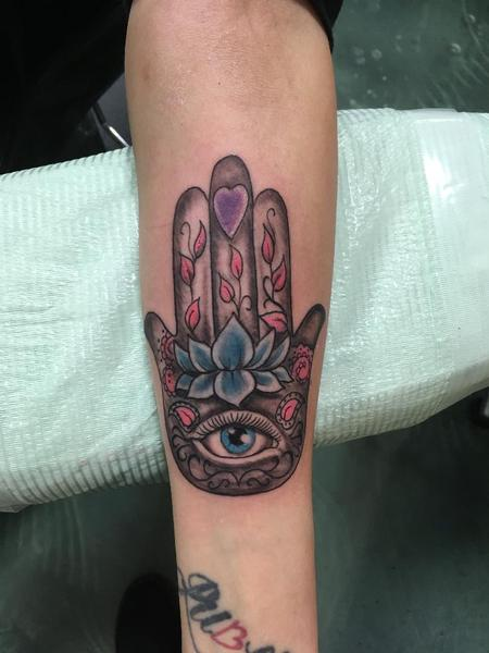 Tattoos - Hamsa Hand - 140287