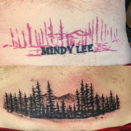 Name Cover Up w/ Forest