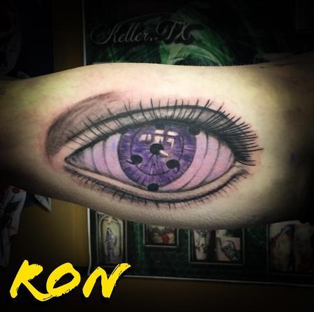 Tattoos - Naruto Purple Eye - 137797