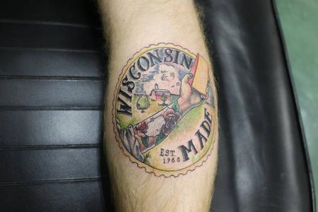 Tattoos - Wisconsin Made - 126491