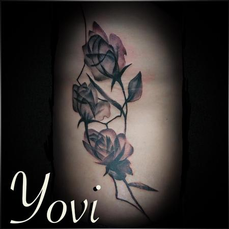 Tattoos - Abstract Rose - 140292
