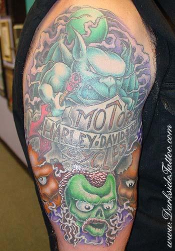 Tattoos - Hippie - 2734