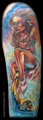 Nick Baxter - Sailor Girl (Detail)