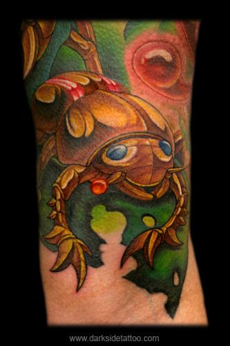 Nick Baxter - Mechanical Beetle (Detail 1)