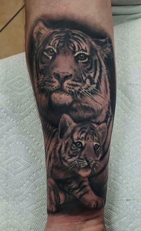 Tattoos - Tiger and Cub - 142437