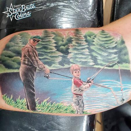 Tattoos - Fishing - 142449