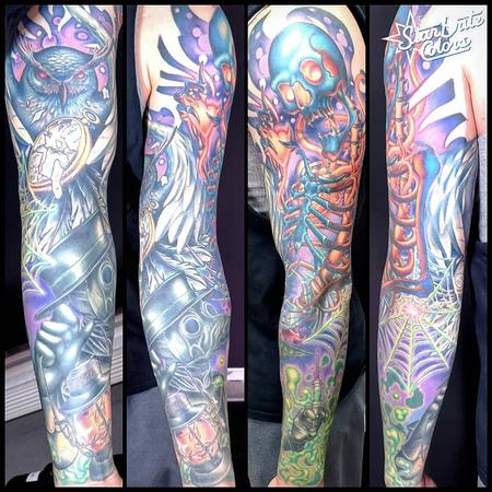 Tattoos - Color Sleeve - 142470