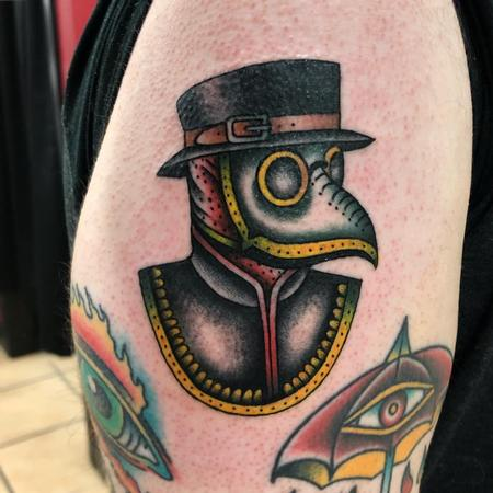 Tattoos - Plague Doctor - 142480