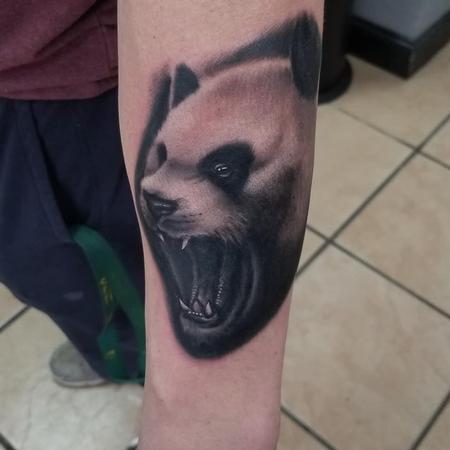 Tattoos - Panda - 142430