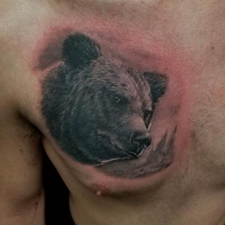 Tattoos - Bear - 142454