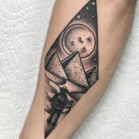 Tattoos - Pyramids - 142411