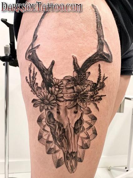 Tattoos - Deer Skull - 141762