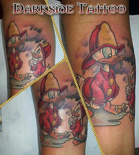 Dave Racci - Color Disney Ducks