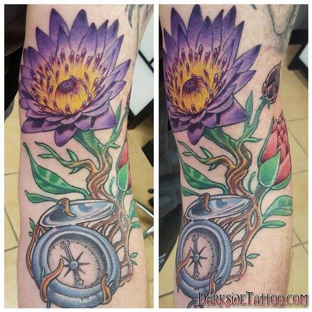 Marissa Falanga - Color flower and compass