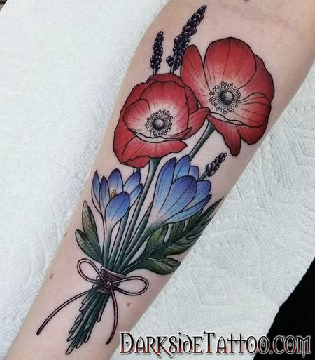 Flowers Tattoo Design Thumbnail