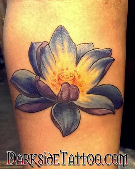 Tattoos - Color Lotus Tattoo - 120347