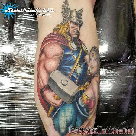 Tattoos - Color Thor Tattoo - 133951