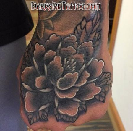 Tattoos - Flower on Hand - 141770