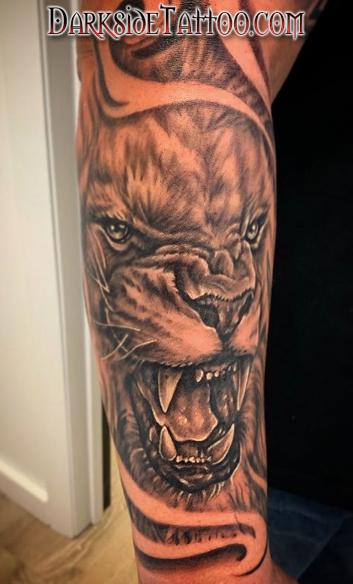 Tattoos - Lion - 141773