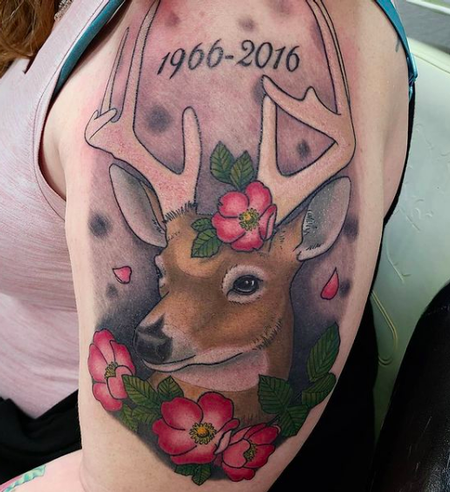 Tattoos - Deer - 142487