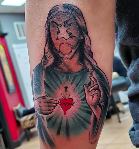 Tattoos - Faceless Jesus - 142424