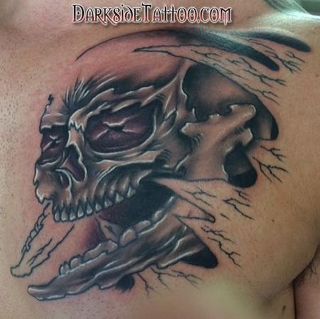 Tattoos - Skull - 141766