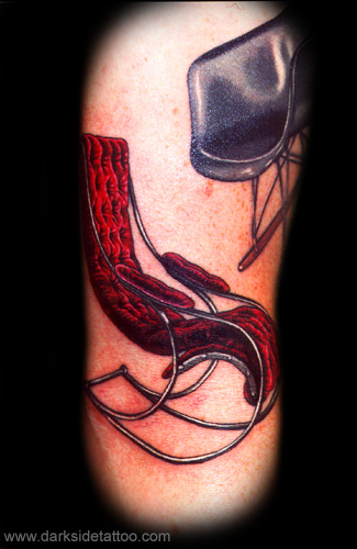 Tattoos - Red Rocking Chair - 3500