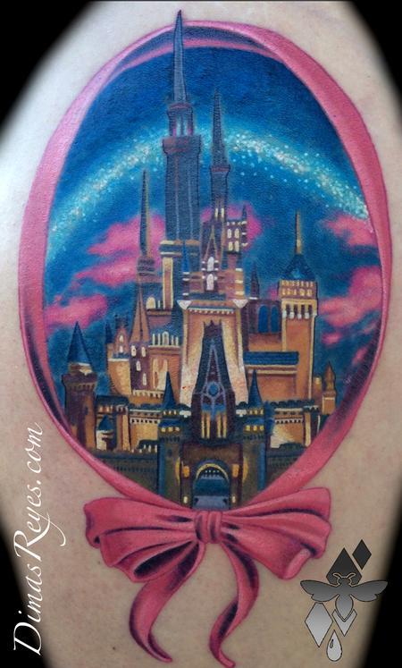 Dimas Reyes - Realistic Color Cinderella Castle