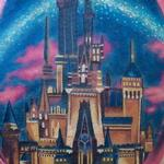 Tattoos - Realistic Color Cinderella Castle - 119323