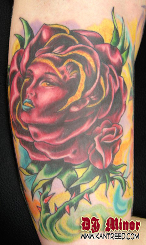 Tattoos - rose - 22252