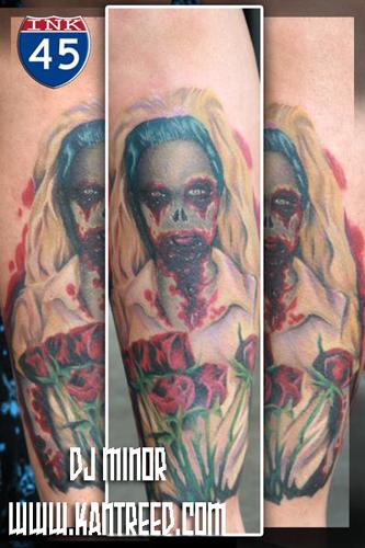 Tattoos - dead bride - 22260