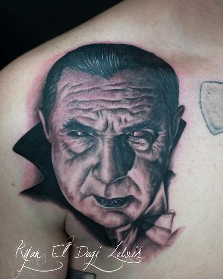 Tattoos - Dracula Portrait - 86634