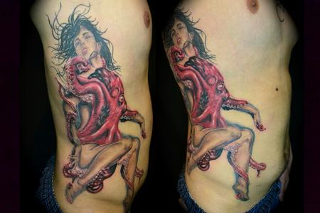 Tattoos - Sexy Octopus Girl - 61788