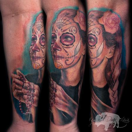 Tattoos - Day of the Dead Portrait - 111430