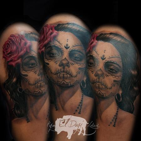 Tattoos - Day of the Dead Portrait - 108271