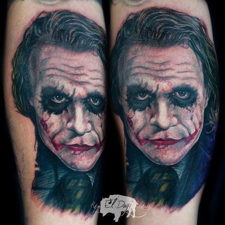 Tattoos - Heath Ledger Joker  - 108274