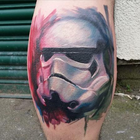 Tattoos - Stormtrooper Color Tattoo - 117083