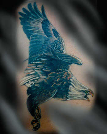 Tattoos - FYING EAGLE! - 24013