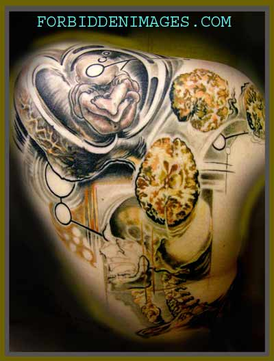 Tattoos - anatomy brain project - 19368