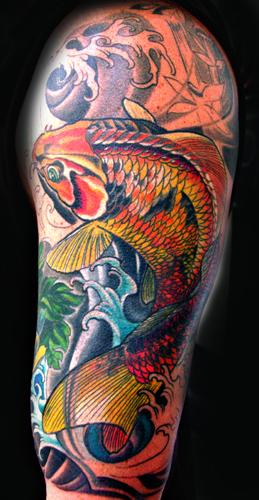 Tattoos - COVER KOI ! - 24008