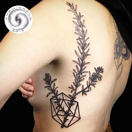Tattoos - Rosemary Icosahedron - 133312