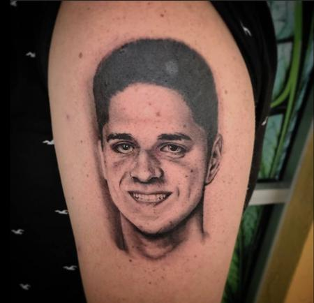 Tattoos - Brothers Memorial Portrait - 142388
