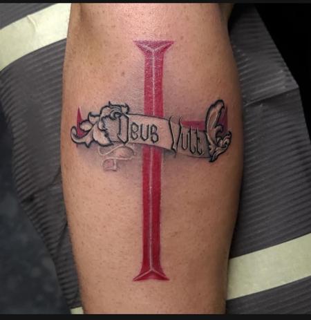 """Tattoos - """"Deus Vult"""" - 142353"""