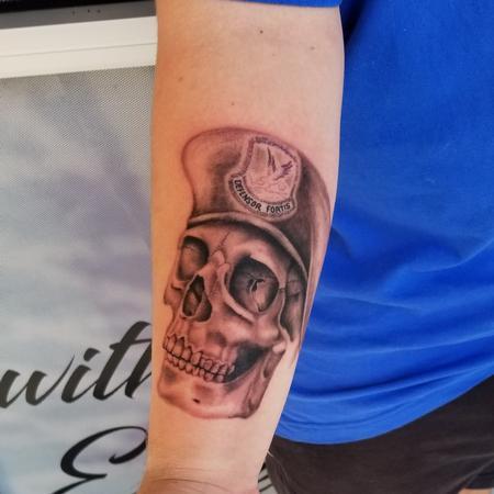 Tattoos - skull - 139985
